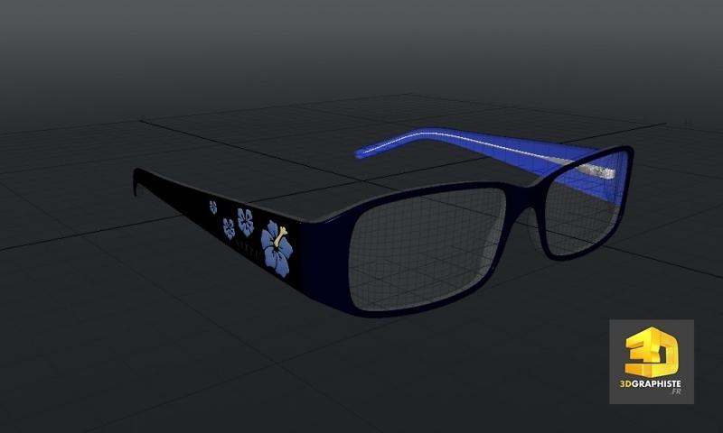concepteur 3d freelance lunettes