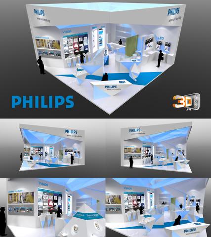 Concepteur de stand Philips