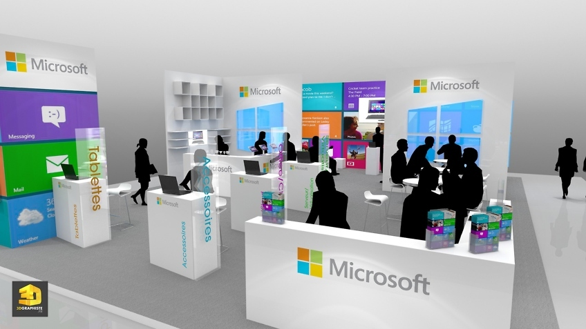Concepteur Stand Microsoft