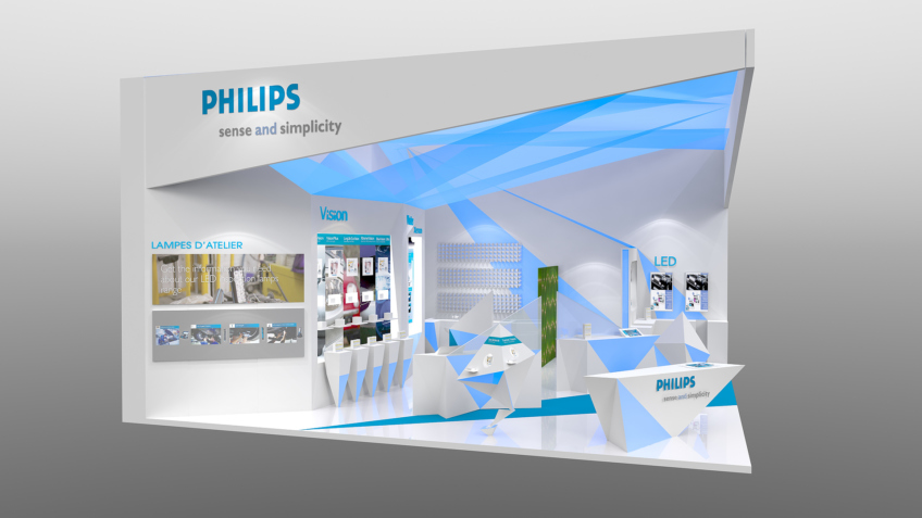 Conception Stand Philips