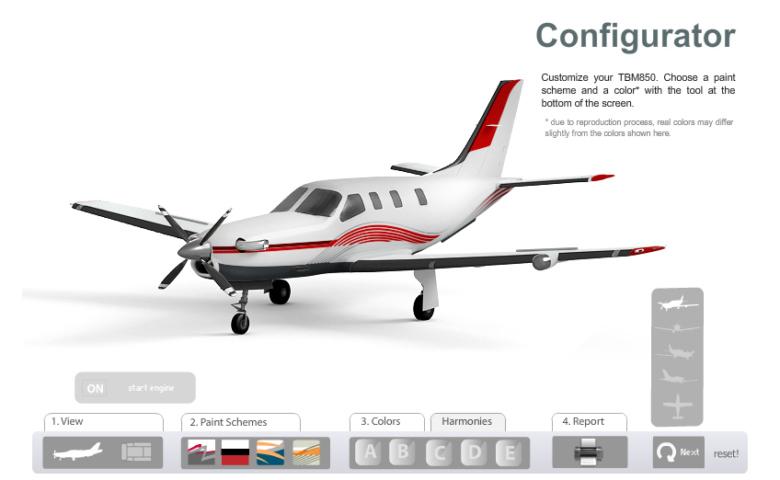 Configurateur Avion