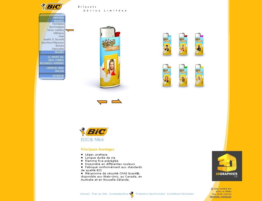 Configurateur briquet bic 3dgraphiste fr for Configurateur 3d gratuit