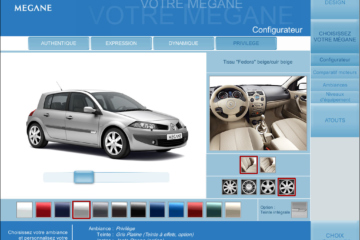 Configurateur 3D Renault Megane