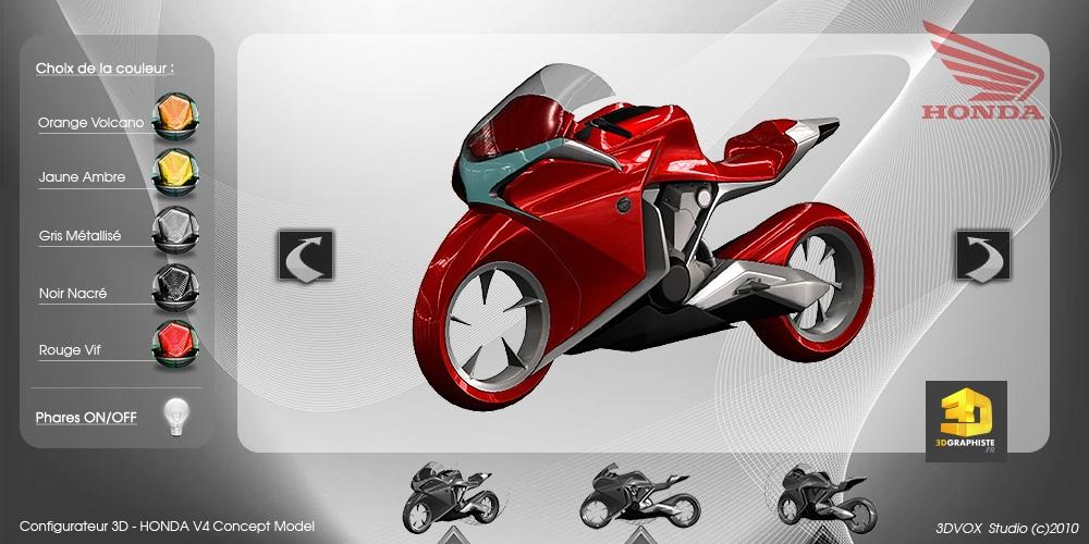 configurateur 3d moto honda 3dgraphiste fr