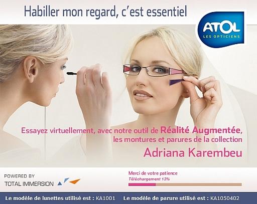 configurateur 3d atole modelisation lunettes