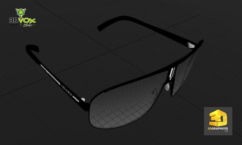 designer 3d lunettes