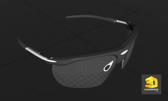 graphiste 3d lunettes