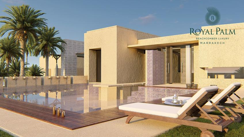 illustrateur 3d architecture - hôtel - SPA