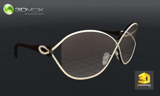 infographiste 3d freelance lunettes