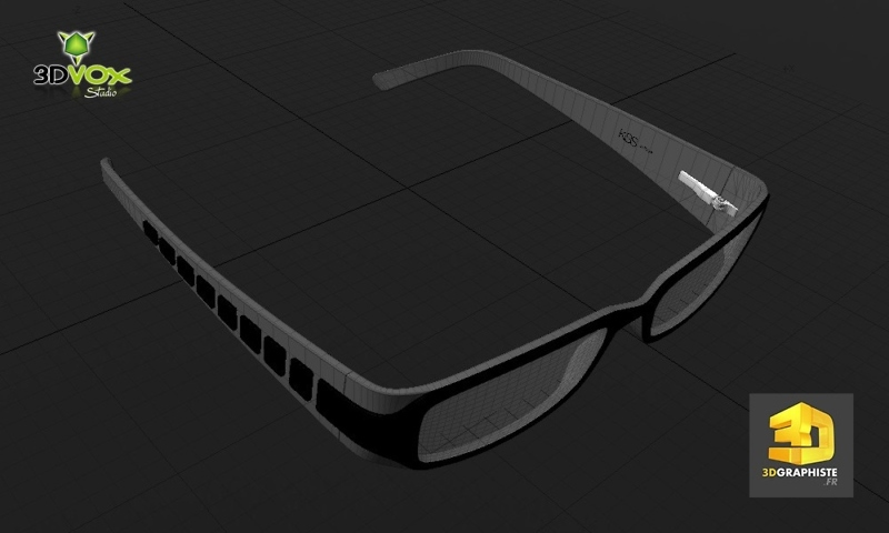 infographiste 3d lunettes