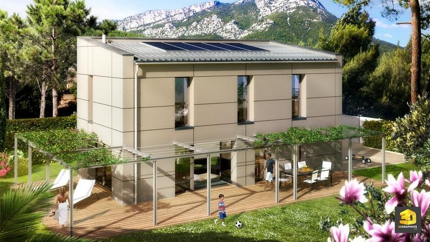 Perspectiviste 3D Maison - Infographiste 3D Architecture