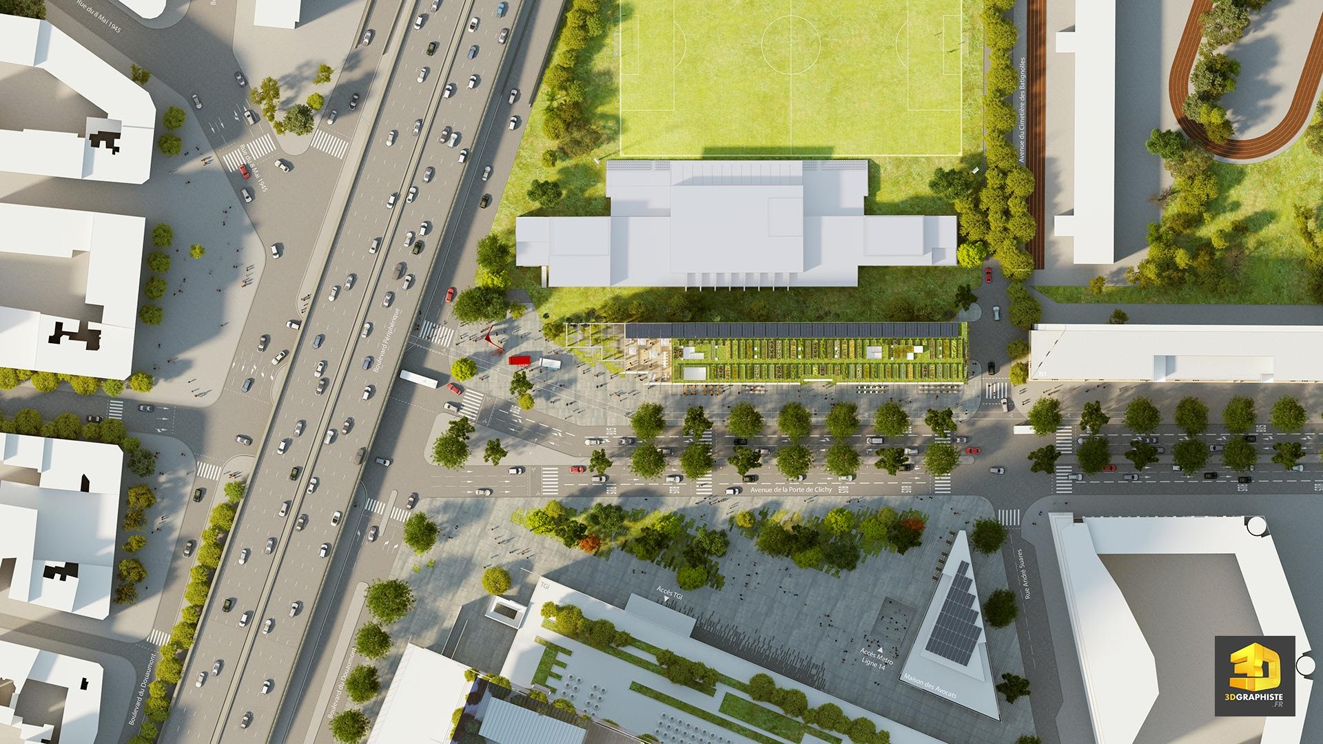Plan masse éco quartier plan masse éco quartier création dun plan de masse pour une éco quartier du projet grand paris clichy batignolles