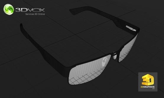 societe modelisation 3d lunettes