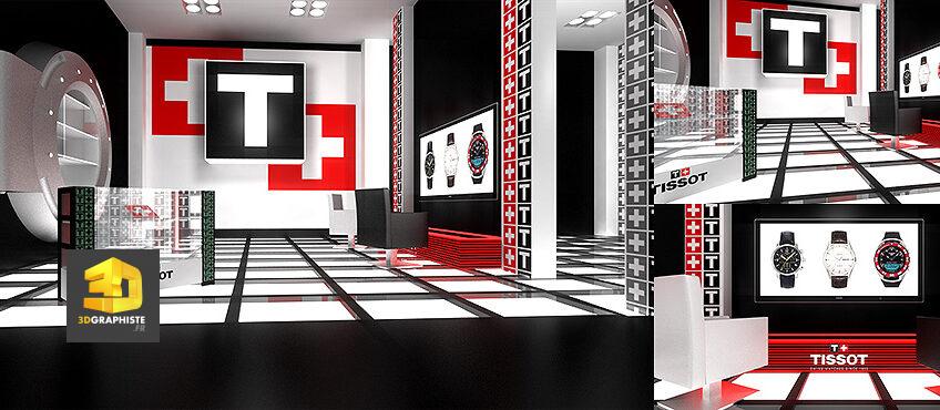 architecture intérieure stores tissot