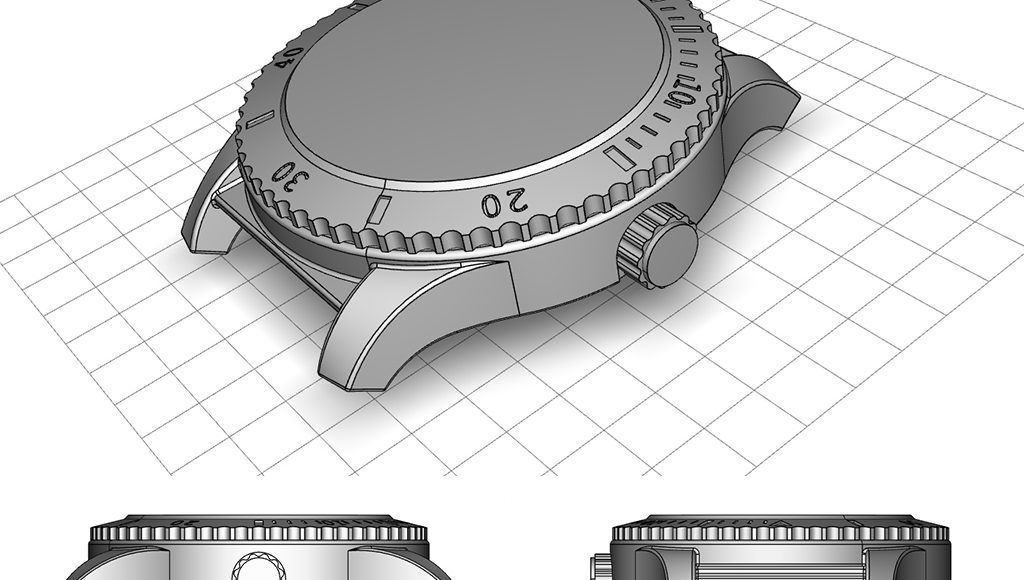 cao freelance impression 3d montre