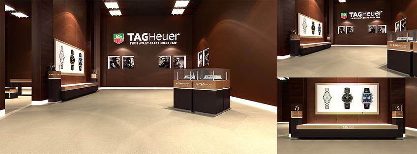 designer interieur bijouterie tag heuer