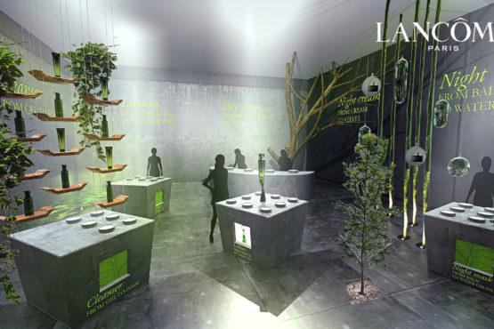 Designer Magasin Lancôme Espace de Vente