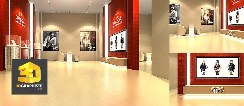 designer magasin omega