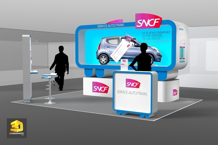 Designer Stand SNCF