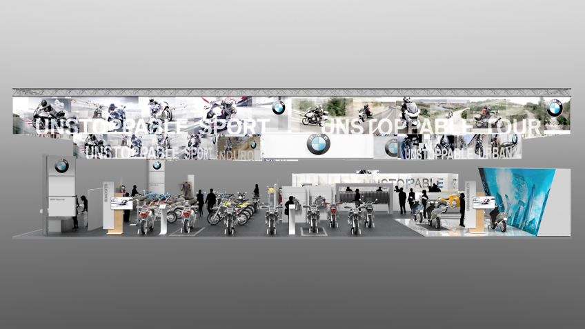 Freelance design de stand BMW