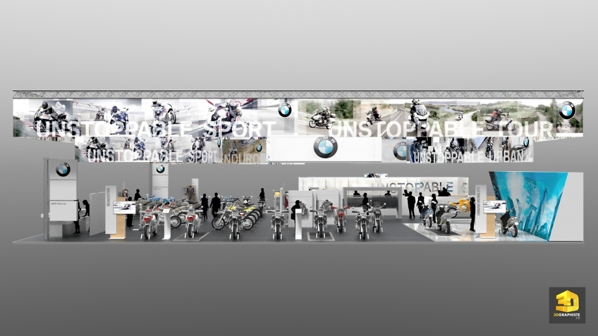 Freelance Design de Stand BMW