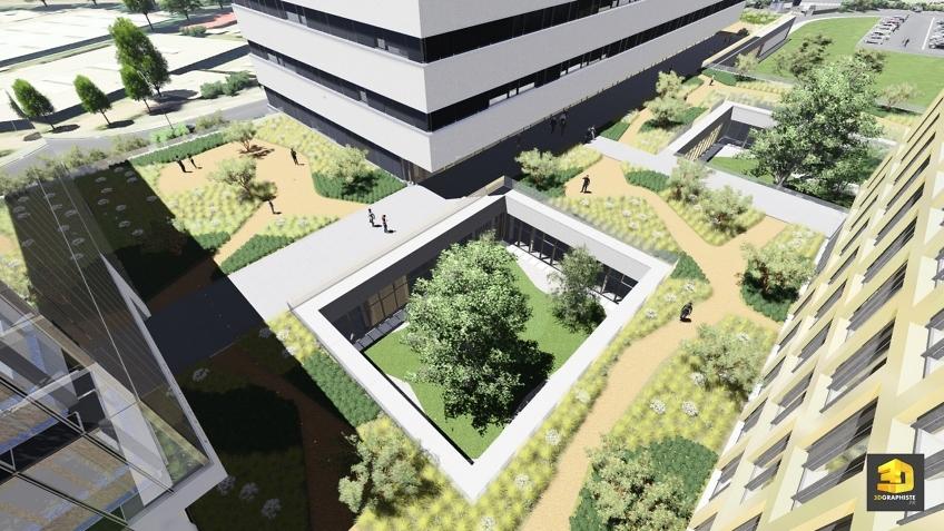 graphiste 3d architecture campus