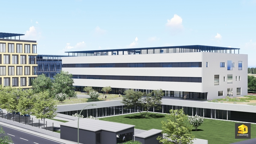 infographiste 3d architecture campus