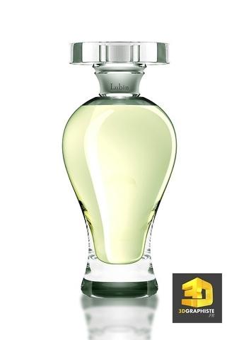 Infographiste 3D rendu Parfum
