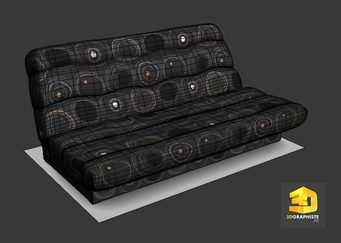 modelisateur 3d canape