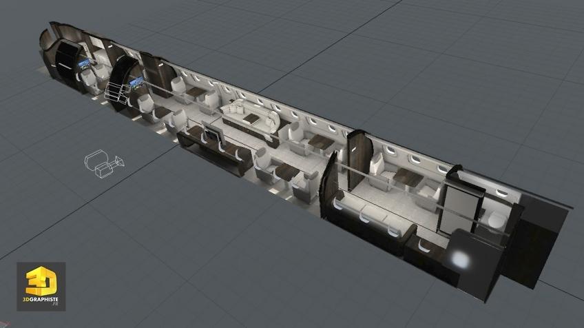 Modelisation 3D Avion