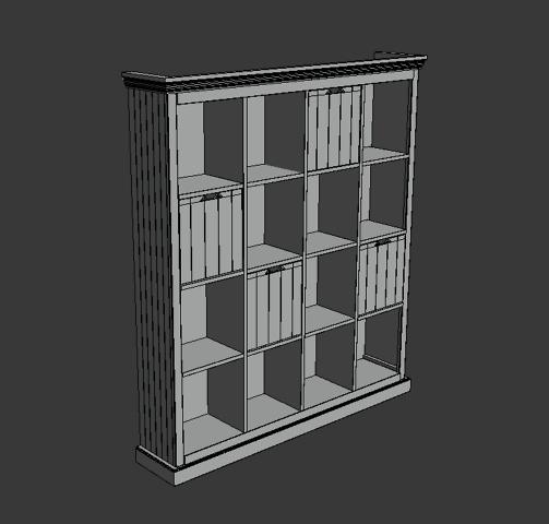 modelisation 3d etagere