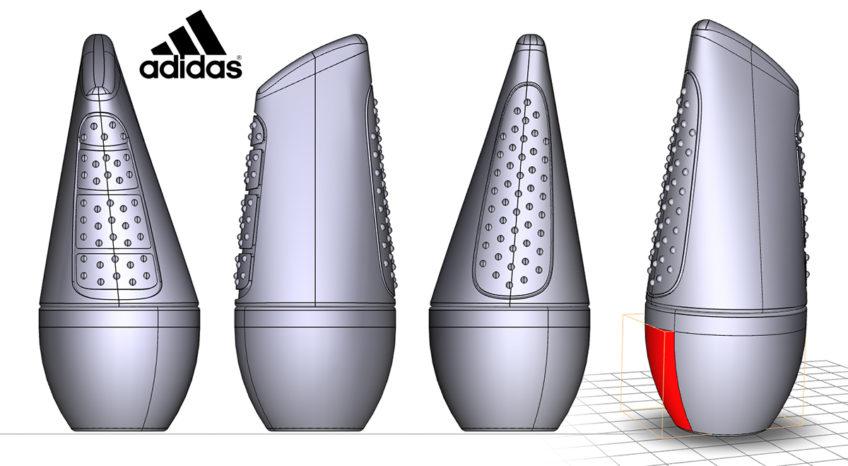 modelisation cao adidas deostick