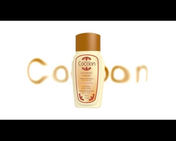packshot 3d cosmetiques gandour cocoon