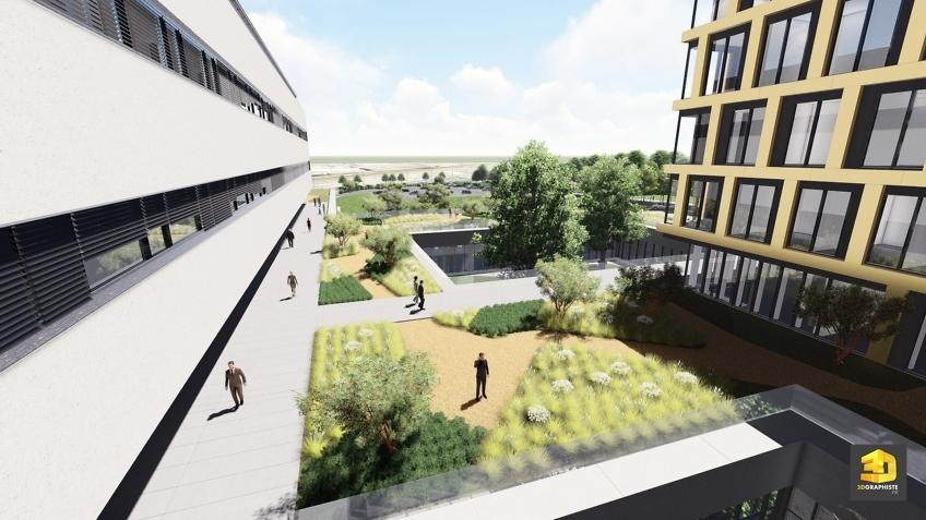 perspective 3d architecture universite