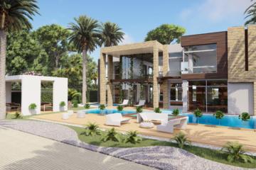 Perspectiviste 3D : Villa de luxe - Ile Maurice