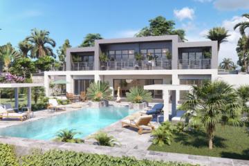 Infographiste architecture villa de luxe