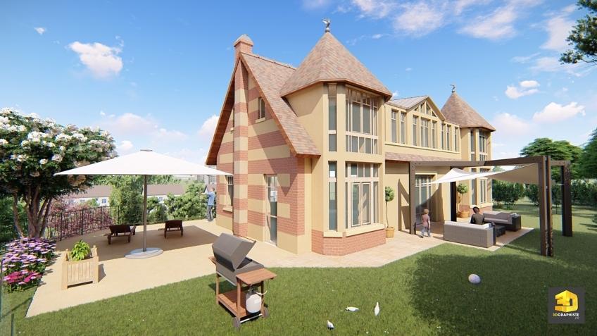 perspectiviste architecture maison individuelle
