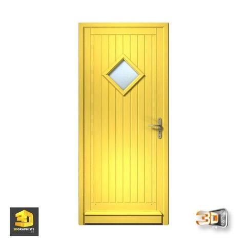 porte modelisation 3d