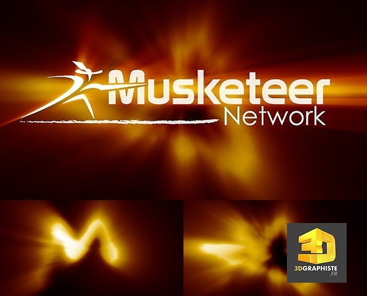 Animation de logos - logo animé - Musketeer