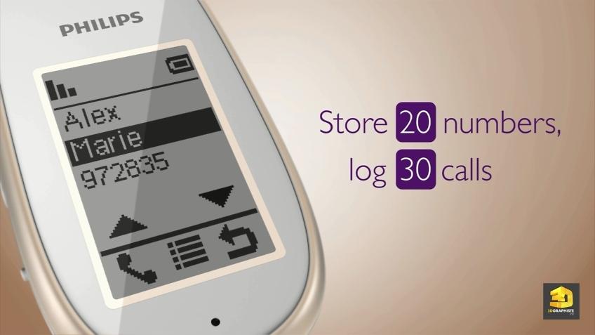 rendu 3d design telephone