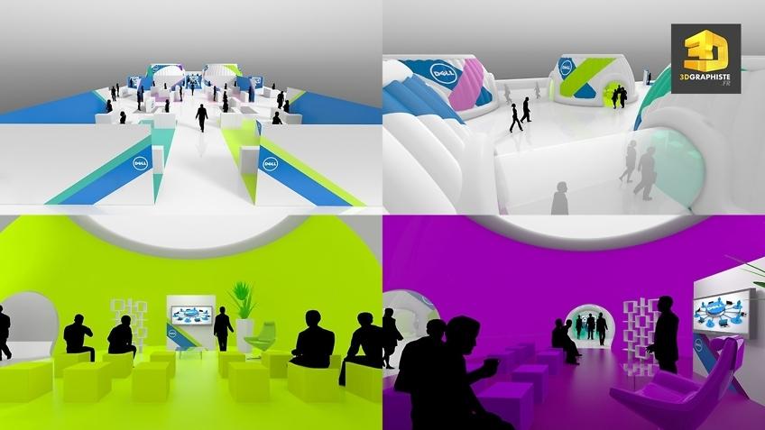 rough 3d convention dell - bulles de conferences