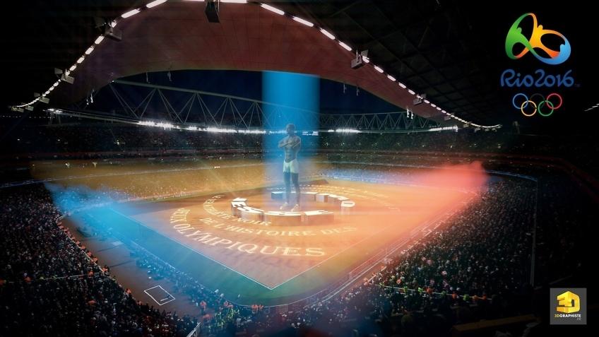 Rough 3D - Stade Jeux Olympiques