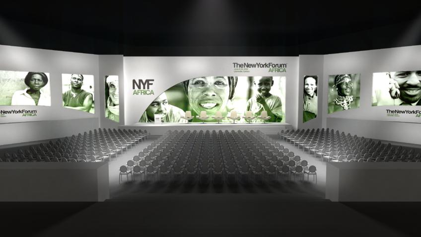 Rough scenographie de Forum - Conférence