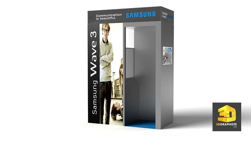 Roughman 3D Événementiel - Photomaton Samsung