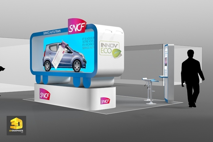 Roughman Freelance Stand SNCF