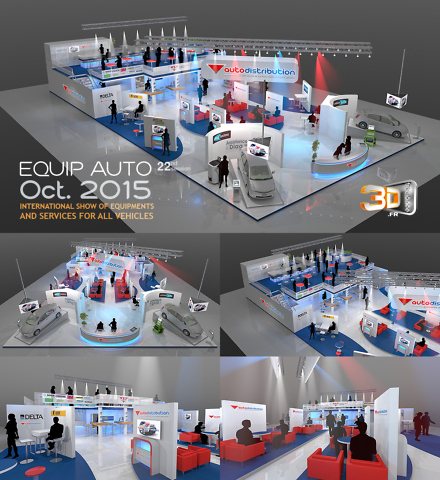 Stand AutoDistribution - stand publicitaire