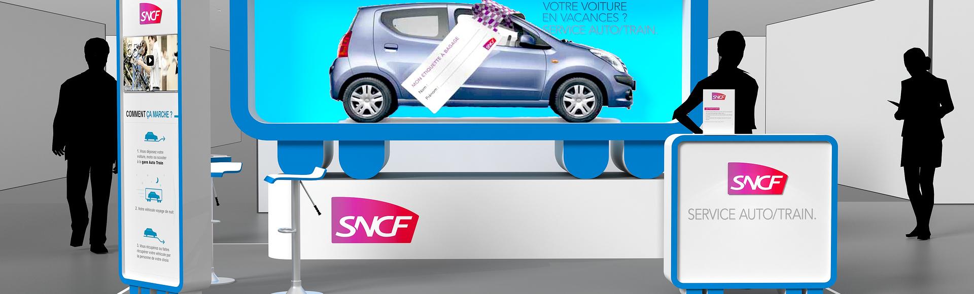Stand sncf - concepteur de stand d'exposition