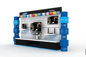 Création de linéaires Samsung smart TV