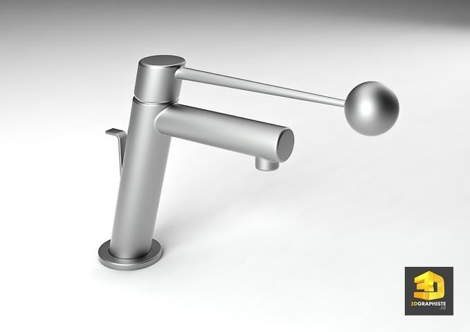designer 3d freelance robinet