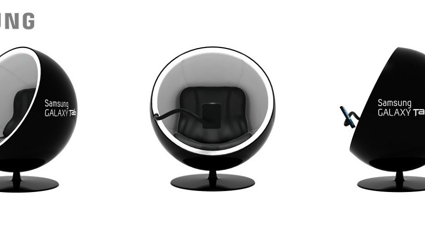 designer meuble samsung galaxy tab
